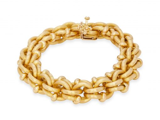 Gold Tiffany Bracelet