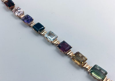 Multi-Gemstone Bracelet